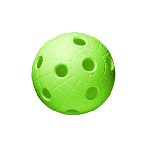 Floorball bold - Unihoc CRATER ball - IFF godkendt (1 stk.)