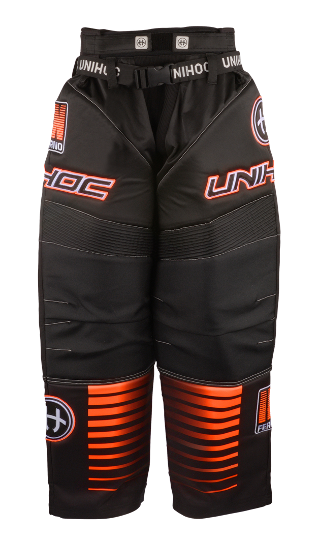 Floorball målmandsbukser - Unihoc Inferno - Floorball bukser (str. 140-3XL)