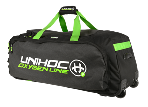 Unihoc sports taske med hjul - Gear bag Oxygen Line - LARGE