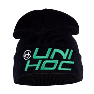 Hue - Unihoc Beanie United - vinter hue i sort