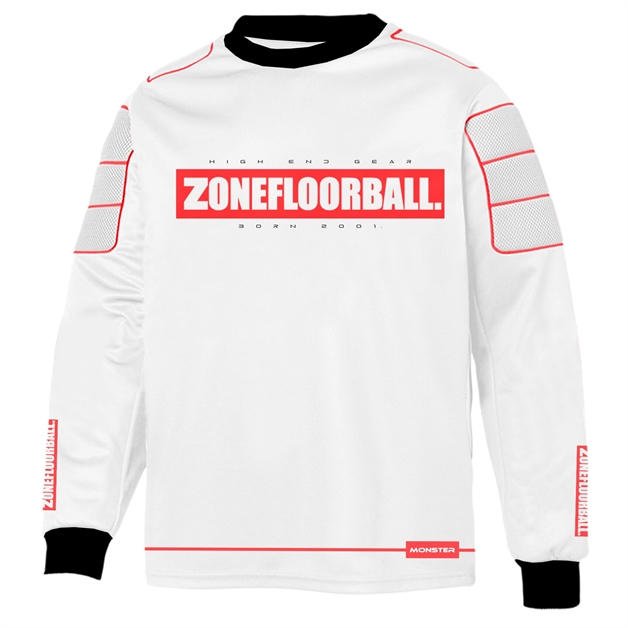Floorball målmandstrøje - Zone Monster - målmands bluse (Str. XS-3XL)